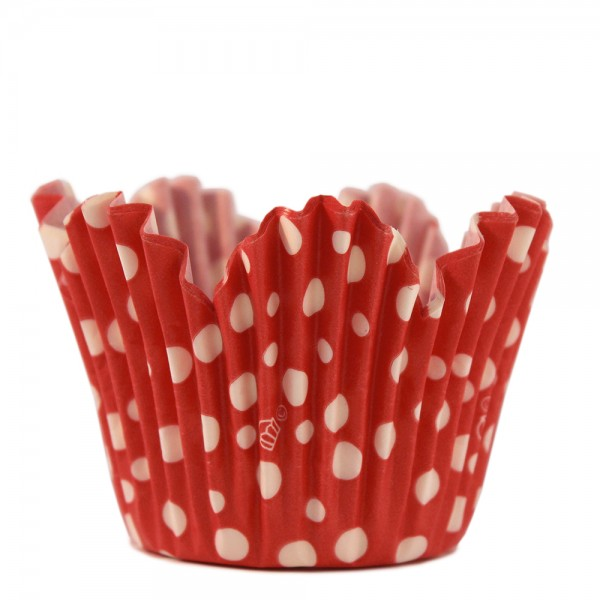 Flower dots - Red
