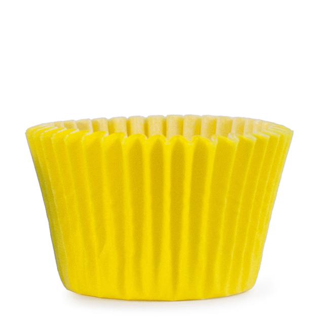 Bakformar enfärgad gul