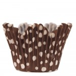 Flower dots - Brown