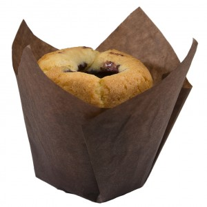 Tulip med muffins - Brown