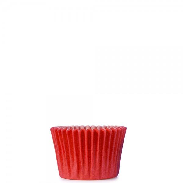 Enfärgad röd liten
