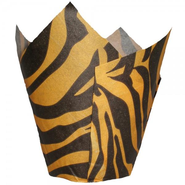 Tulip Zebra Svart/Orange