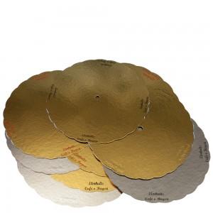 Guldbrickor med hål